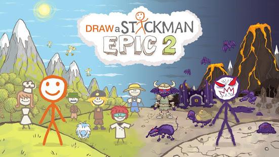 Aperçu Draw a Stickman: EPIC 2 Free - Img 1
