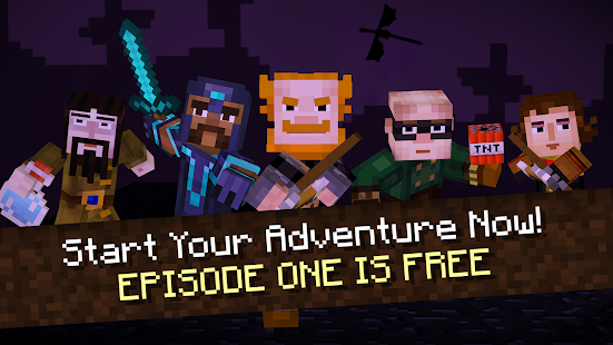 Aperçu Minecraft: Story Mode - Img 1