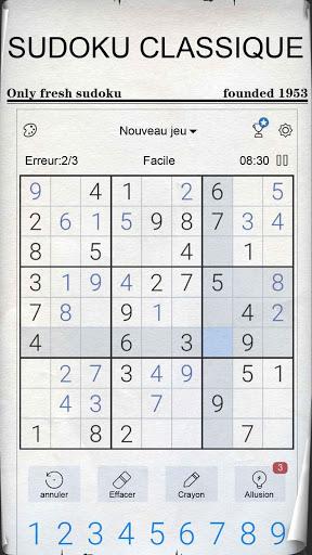 Aperçu Sudoku - Sudoku classique gratuit - Img 1