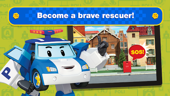Aperçu Robocar Poli Games: Rescue Town and City Games - Img 1