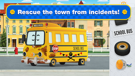 Aperçu Robocar Poli Games: Rescue Town and City Games - Img 2