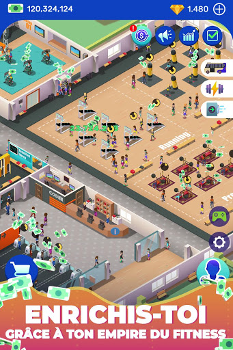 Aperçu Idle Fitness Gym Tycoon - Workout Simulator Game - Img 2