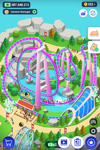 Aperçu Idle Theme Park - Jeu Magnat - Img 1
