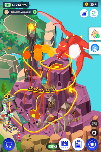 Aperçu Idle Theme Park - Jeu Magnat - Img 2