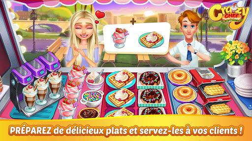 Aperçu Crazy Chef : jeu de cuisine rapide - Img 1